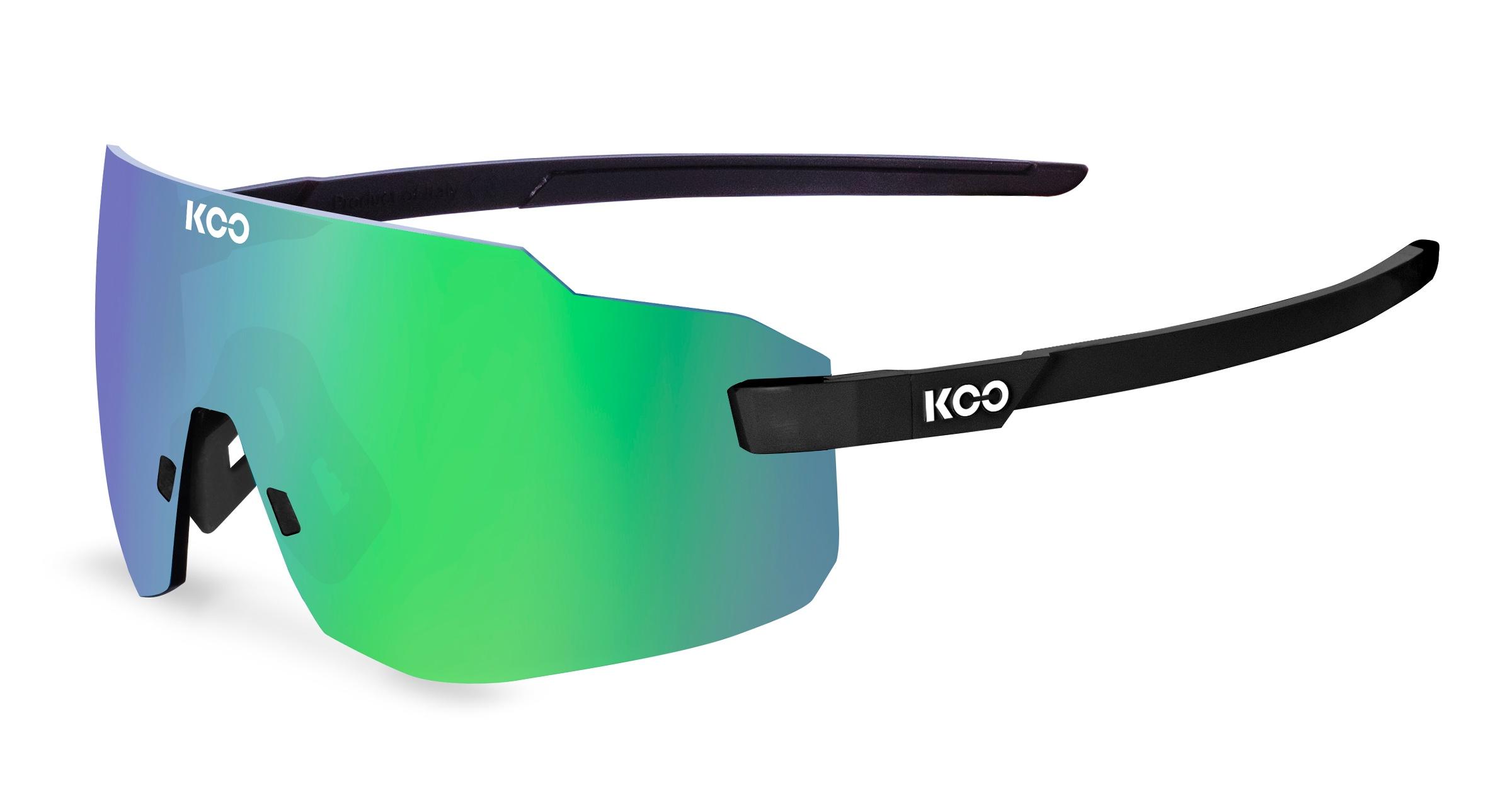 Køb Koo Supernova Cykelbrille – Sort/grøn